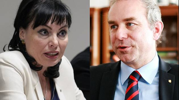 Klára Liptáková a Jiří Mihola z KDU-ČSL.