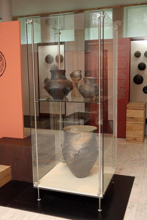 Výstava Mykény a střední Evropa v Anthroposu.