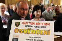 Sebeobrana, první pomoc nebo prevence počítačové kriminality. To byla některá témata, kterým se věnoval pátý ročník brněnské Senior akademie.