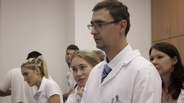 Studenti medicíny. Ilustrační foto.