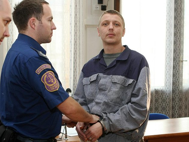 Lukáš Dostál u soudu v Brně.