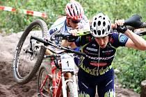 Závodník brněnského Merida Biking Teamu Milan Spěšný.
