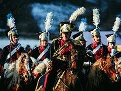 ZA NAPOLEONA. Rekonstrukce bitvy tří císařů u Slavkova.
