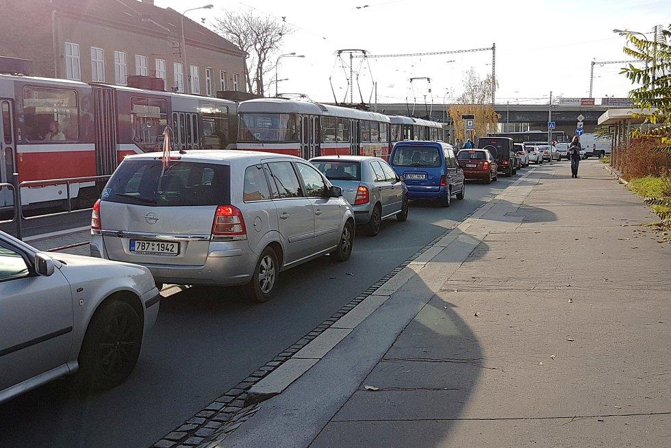 Kolony v ulici Táborská a Životského v Brně.