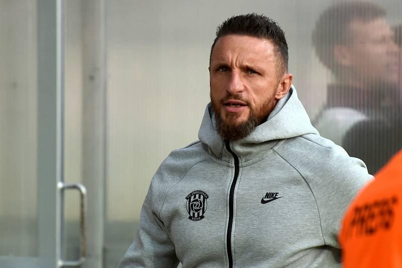 Rosice 28.09.2019 - domácí FC Zbrojovka Brno (Pavel Šustr) proti FC Hradec Králové
