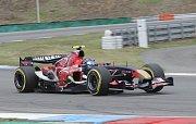 Gerstl se svou formulí Toro Rosso posunul rekord Masarykova okruhu.