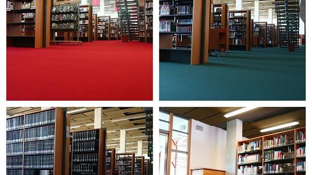 Studovny opět v provozu. Čtení v Moravské zemské knihovně zpříjemní nové koberce