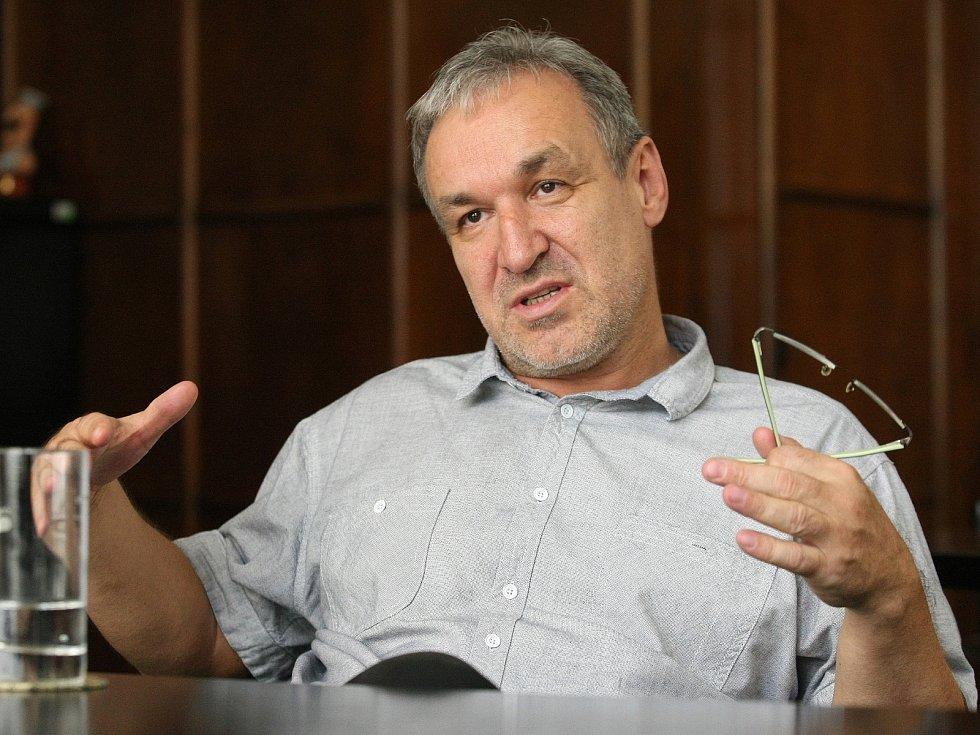Nový ředitel Českého rozhlasu Brno a Českého rozhlasu Zlín Jaromír Ostrý.