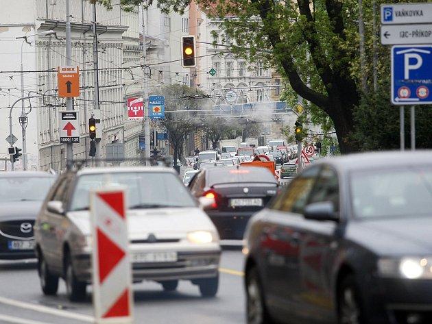 Doprava v okolí Koliště.
