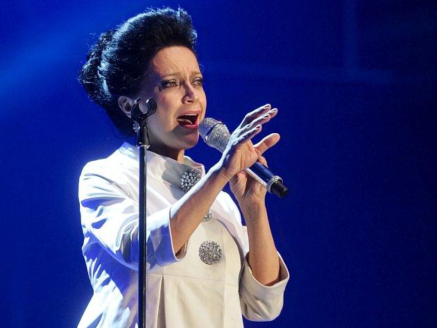 Zpěvačka Lucie Bílá přijela do Brna se svým vánočním koncertem.
