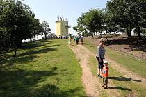 Otevření nové vyhlídkové veže v Malhostovicích.