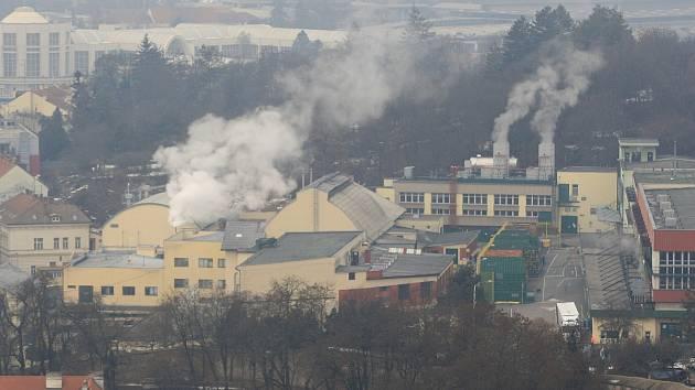 Smog v Brně. Ilustrační foto.