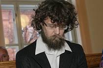 Radim Odehnal u brněnského soudu.