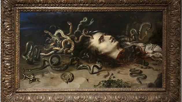 Do Brna se vrátil obraz Medusa od Rubense: navštívil Vídeň i Spojené státy
