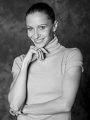 Baletní sólistka Ivona Jeličová.