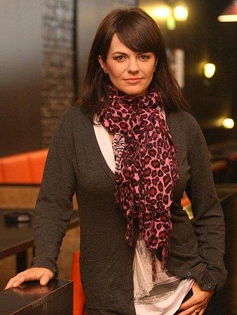 Rockerka Marta Jandová.