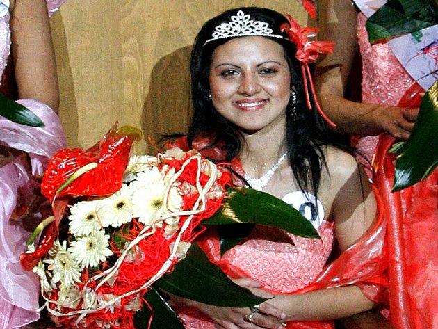 Renata Čonková se stala Miss Roma.