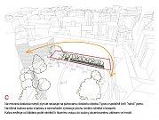 Soutěž o nejlepší návrh na rekonstrukci parku mezi Místodržitelským palácem a Rooseveltovou ulicí vyhrál architekt Jiří Vokřál a jeho tým: Michaela Tománková a Ján Augustín.