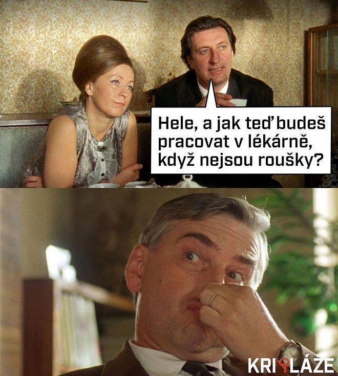 Využili i brněnské herce Bolka Polívku a Miroslava Donutila z Pelíšků. Vtipy, kterými se v posledních dnech baví lidé na sociálních sítích.