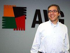 Ředitel AVG Technologies Karel Obluk.