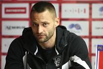 Tisková konference FC Zbrojovka Brno před zahájením jarní části F:NL - Pavel Eismann