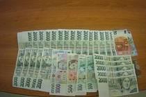 Žena našla v Brně peněženku se sedmapadesáti tisíci korun. Odevzdala je strážníkům.