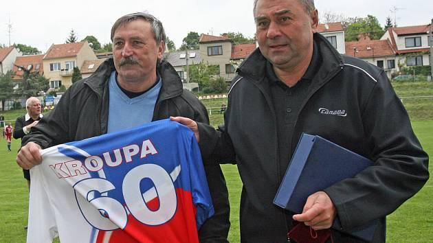 Antonín Panenka a Karel Kroupa.