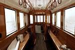 Historickou tramvaj číslo 107, která projíždí Brnem linkou H4, opravují.