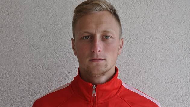 Fotbalista Jan Koudelka.