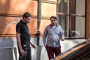 Na snímku zleva Aleš Halva a Michal Hasmanda.