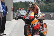 Tradiční testy týmů nejprestižnější kategorie MotoGP na Masarykově okruhu v Brně.