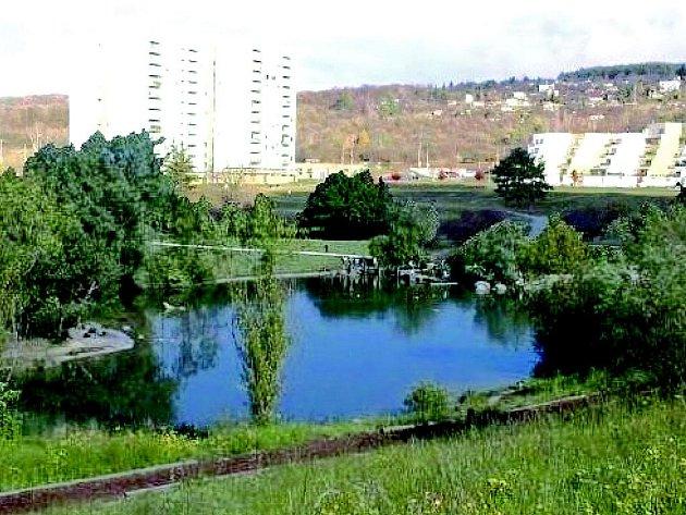Vizualizace plánovaného parku Pod plachtami v Novém Lískovci.