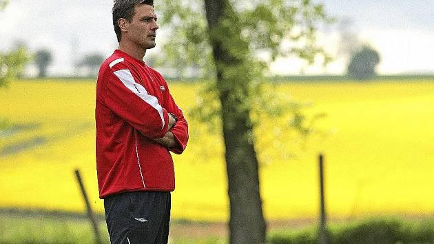 Trenér brněnských fotbalistů René Wagner.