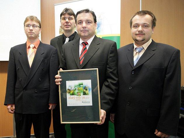 Vítězové Zlatého erbu 2008: Znojmo, Archlebov, Senorady