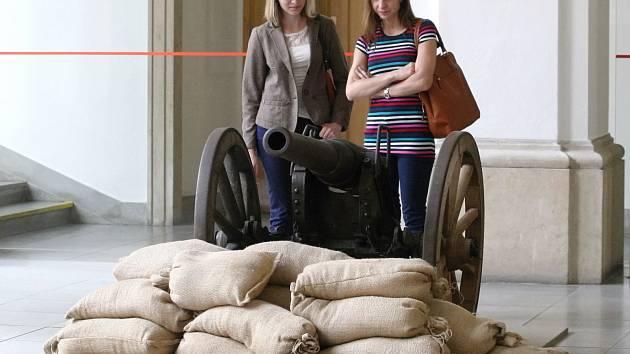 Výstava při akci Velká válka v Brně. Ilustrační foto.
