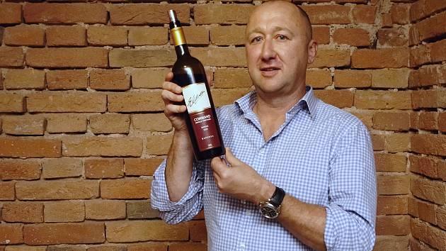 Majitel vinařství Elderton z Austrálie Cameron Ashmead.