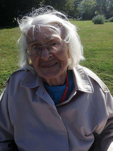 Květoslava Zápalková, 87let, důchodkyně, Brno.