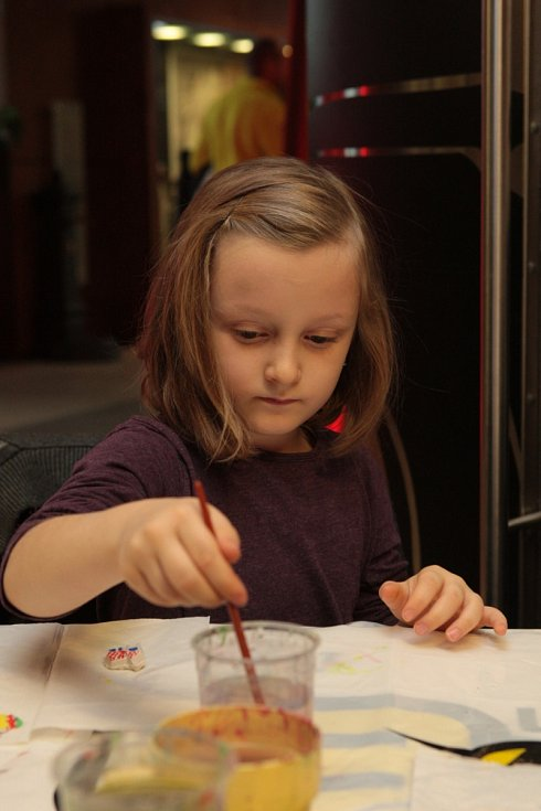 Od adventu do Tří Králů. Děti se na akci Technického muzea v Brně dozvěděly něco o vánočních zvycích.