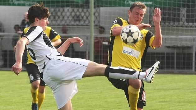 Fotbalisté Rosic podlehli Žďáru nad Sázavou 0:1.