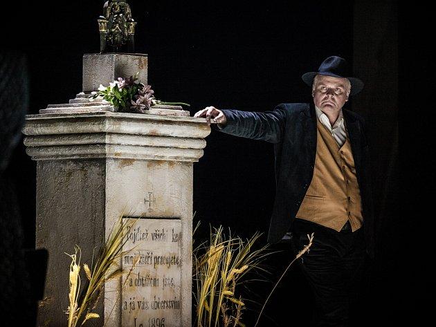 Herec Igor Bareš se rolí Sekala vrátil na prkna Mahenova divadla po třinácti letech.