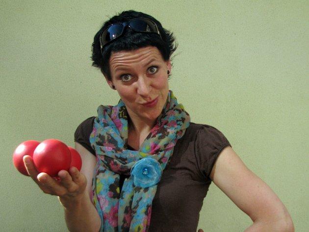Dagmar Trávníková si žonglování zamilovala.