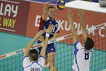 Mistrovství Evropy ve volejbalu v kategorii do dvaceti let.