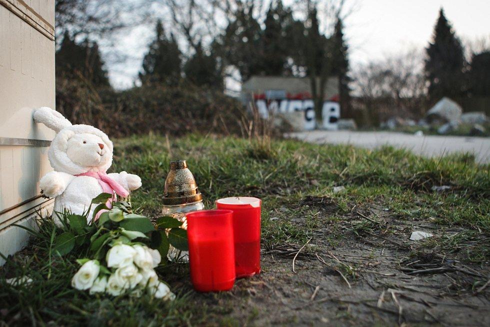 Pieta za studentku Mendelovy univerzity v Brně, kterou podle policie zavraždil její expřítel v arboretu.