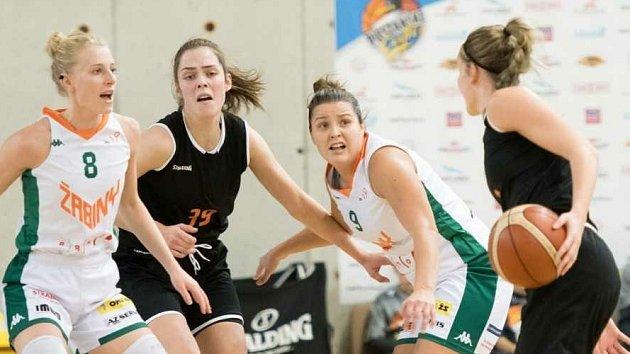 Nejrychlejší možný postup do play-off Evropské ženské basketbalové ligy EWBL slaví po druhém dílčím turnaji Žabiny Brno.