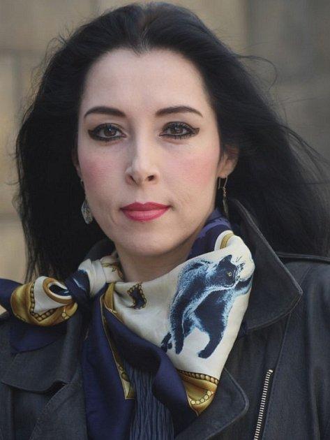 Spisovatelka Ivana Blahutová.