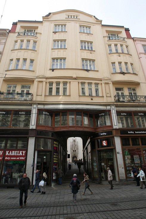 Dům určený ke směně za pozemky pro stavbu stadionů za Lužánkami - Masarykova ulice 6.