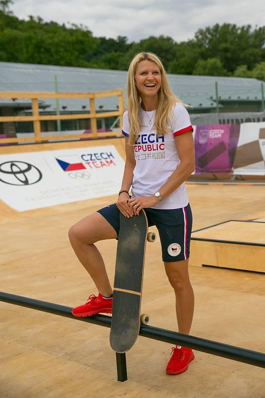 Vbrněnských Pisárkách bude Olympijský festival. Před otevřením se do areálu podívala ambasadorka festivalu, bývalá brněnská tenistka Lucie Šafářová, a další hosté.