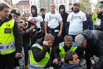 Prvomájové demonstrace v Brně