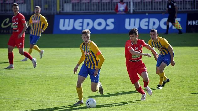 Fotbalový zápas mezi brněnskou Zbrojovkou a SFC Opava bude mít repete i ve druhé lize.
