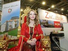 Veletrhy Go a Regiontour, které začaly ve čtvrtek na brněnském výstavišti.